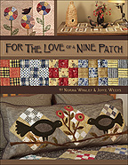 For The Love Of A Nine Patch Quilting Instruction Book