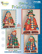 Snow Friends Four by Kay Quist Creations