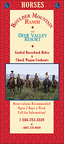 Boulder Mountain Ranch Horseback Rides